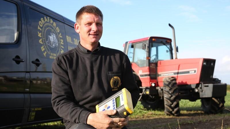 Få kontrolleret den brugte traktors tilstand