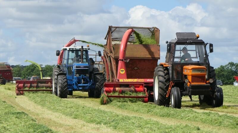 45 nostalgiske maskiner i græsset