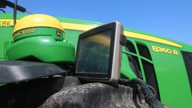 GPS-tyverier fra ulåst maskinhus