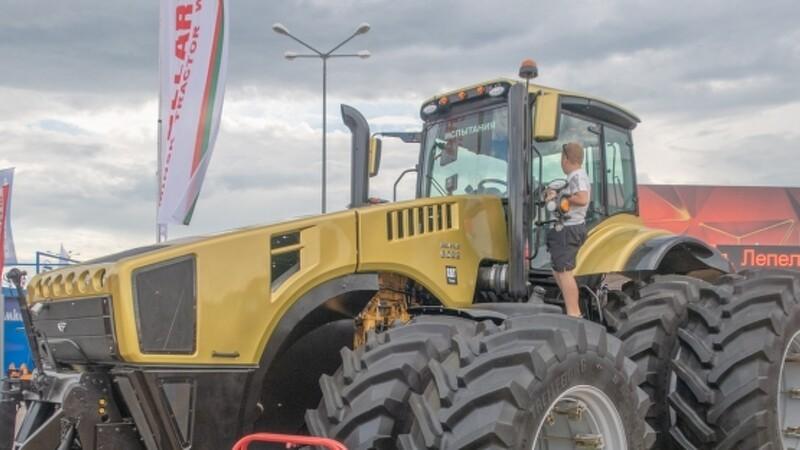 Belarus lancerer traktor med 500 hestekræfter