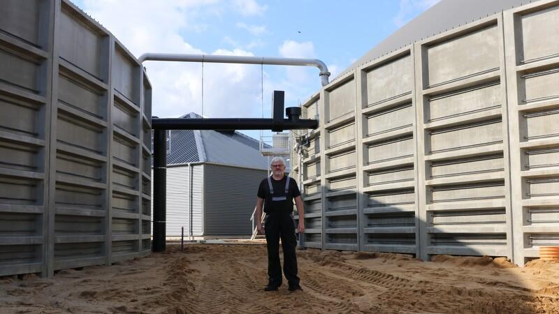 Økologisk biogasanlæg byder indenfor i dag