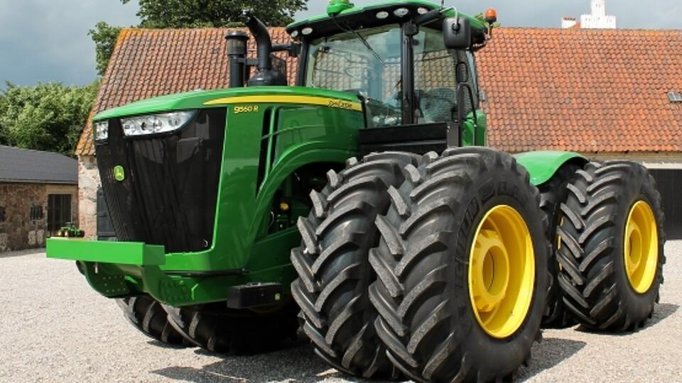 Verdens største john deere traktor