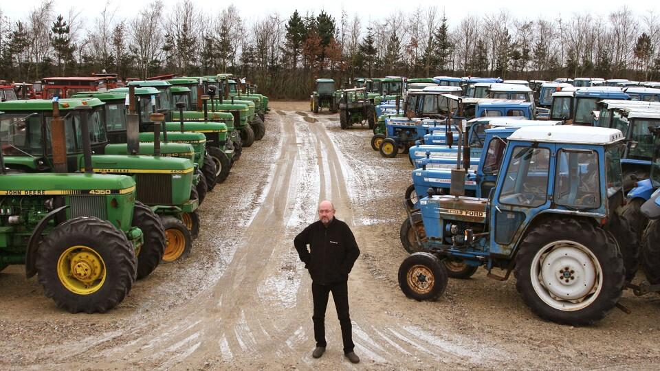 traktor huggeri danmark