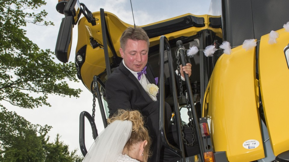 gyllevogn til bruder traktor
