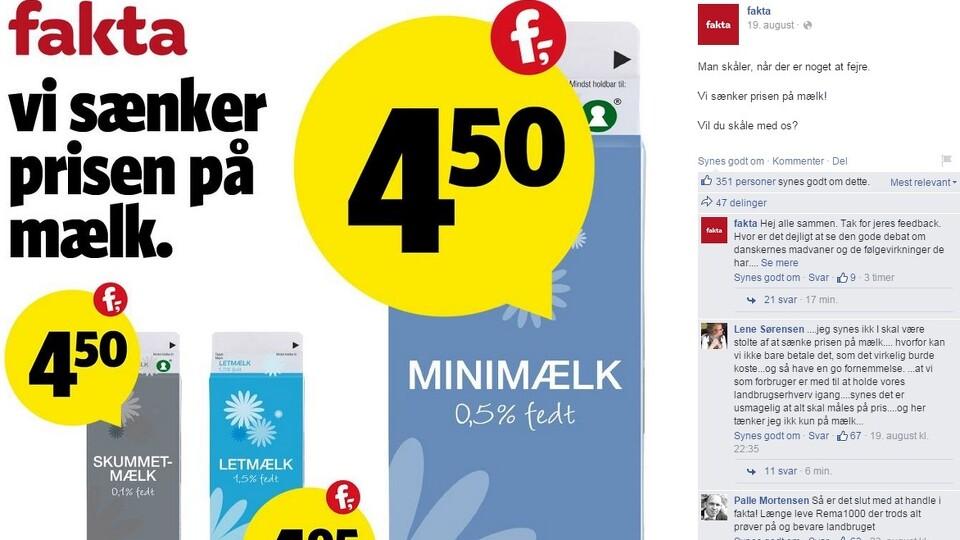 Fakta Forsvarer Lav Mælkepris Maskinbladet