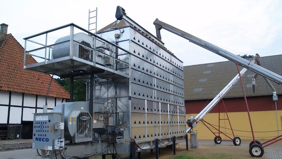 Energiforbrug til korntørring