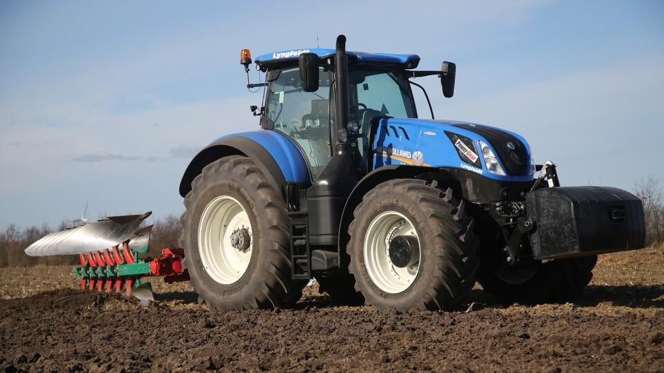 den blå avis traktorer