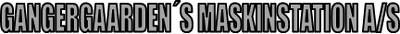Gangergaardens Maskinstation A/S logo