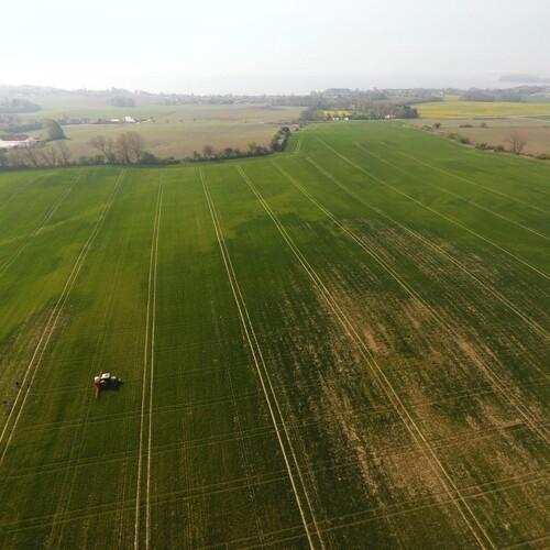 Mindsk høstbesværet, og øg udbyttet med gradueret gødningstildeling