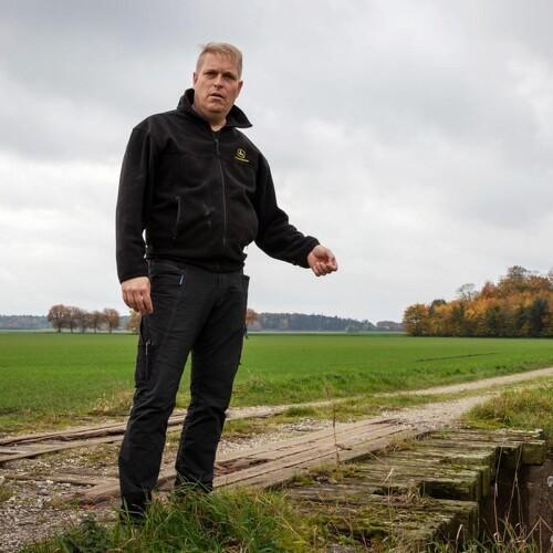 Rapgræsset trives på lavbundsjorden i Kolindsund