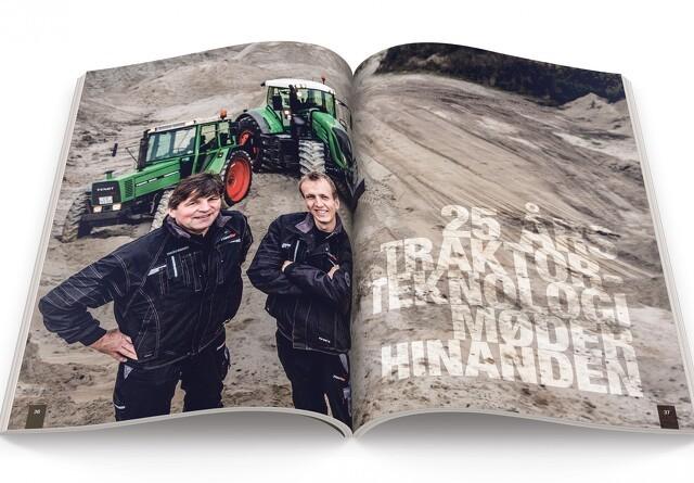 25 års traktorteknologi møder hinanden