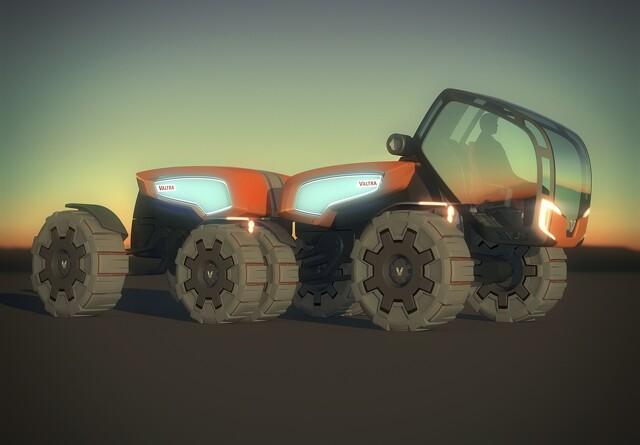 Fremtidens traktor fra Valtra