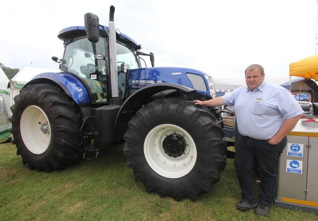 Første New Holland-traktor med ABS til Danmark