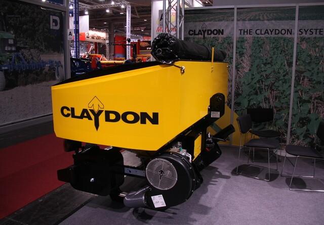 Agritechnica: Claydon opdaterer med gødningsplacering