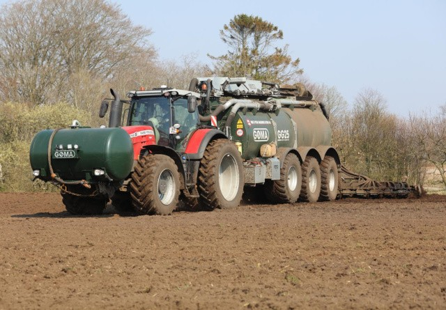 Nedbringning af forsuret gødning på sort jord