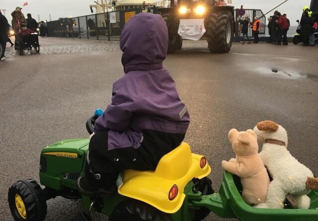 Østerbros mest fotograferede traktor