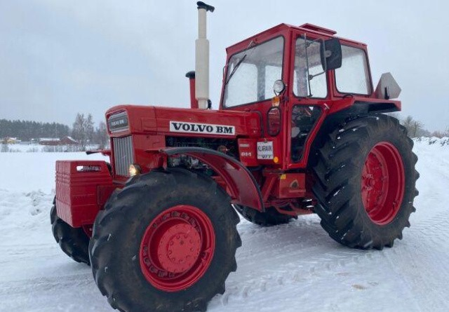 Volvo BM-traktor solgt til ny rekord-pris