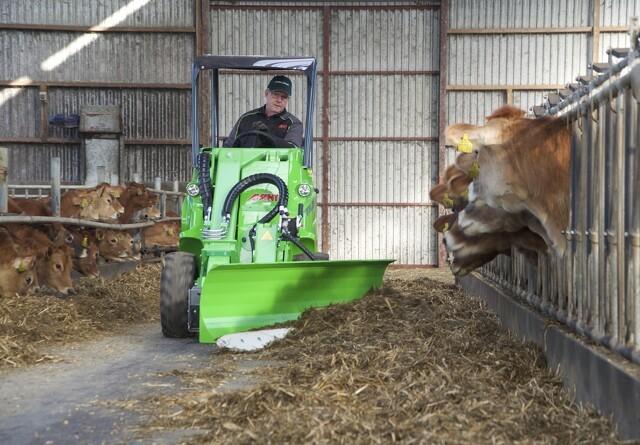 Kompakt Avant står for foderindskubning