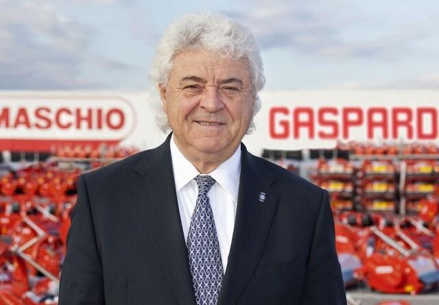 Stifter af Maschio Gaspardo død