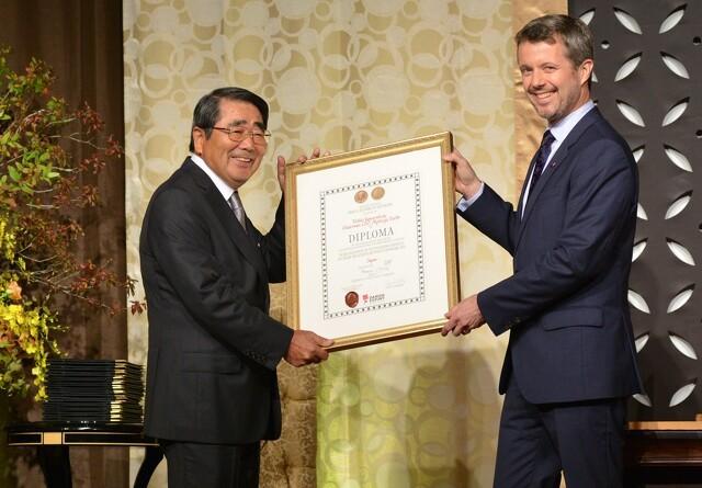 Japansk direktør får royal eksporthæder