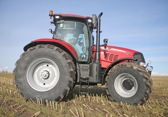 Valg af bremsesystem afhænger af traktorens størrelse
