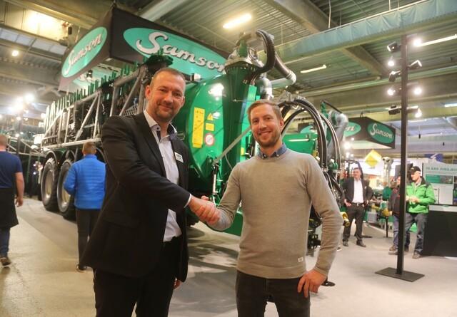 - Kæmpe interesse og mange solgte maskiner på Agromek