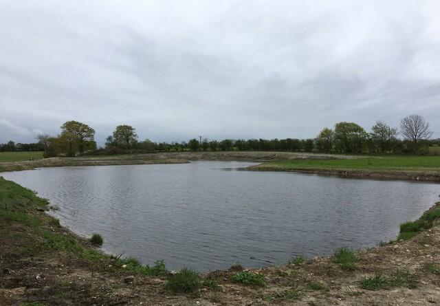 Sønderjyllands første minivådområde indvies