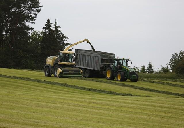 Flere nummerplader på danske traktorer