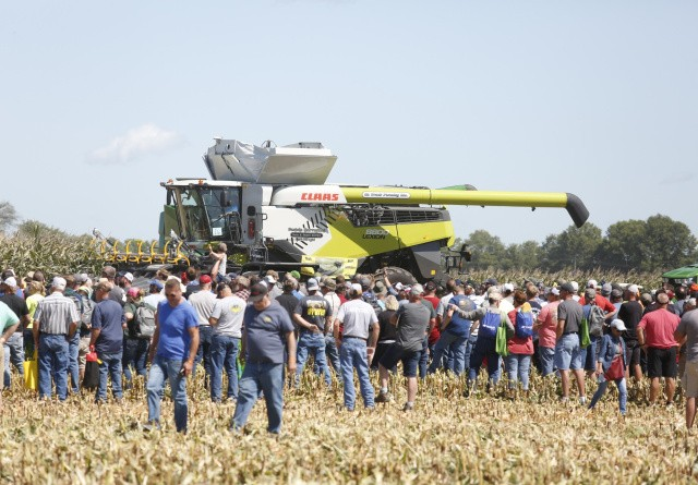 Traditionelle Claas-farver i USA