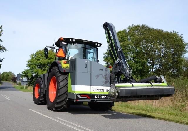 Ny dansk klipper til både græs og træer