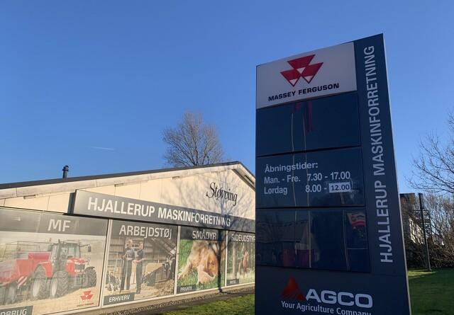 Hjallerup Maskinforretning holder lukket
