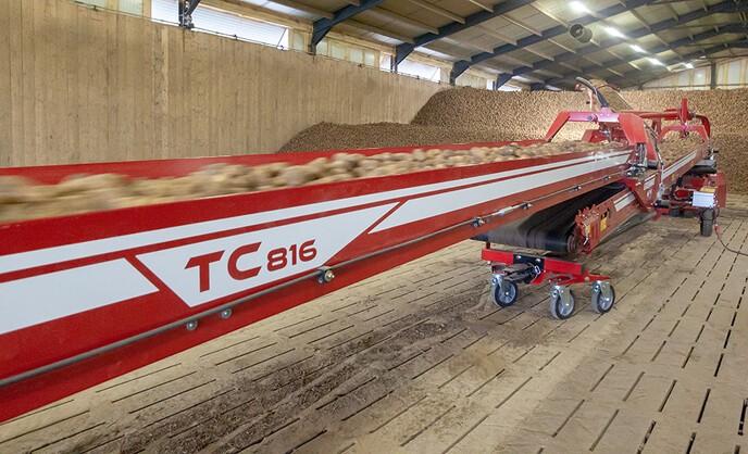 GRIMME TC-800 transportbånd