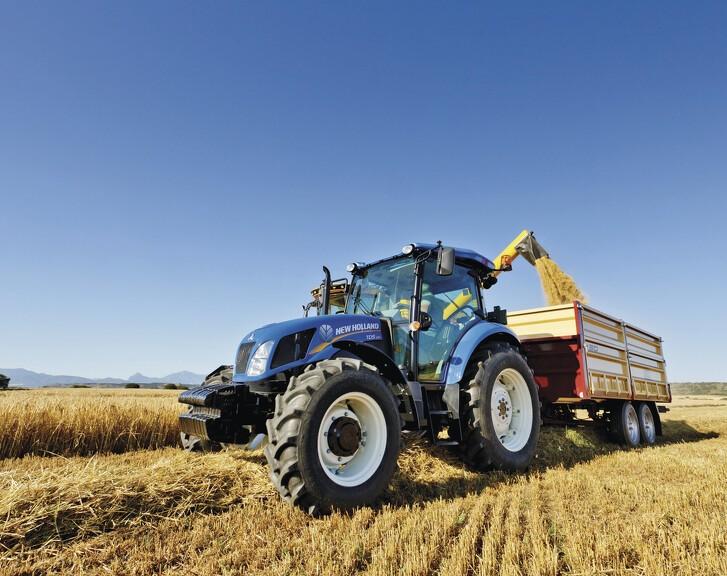 TD5 traktor med velafprøvet teknik