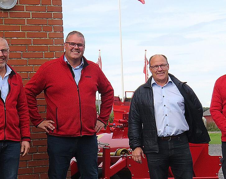 GRIMME Skandinavien og ASA-LIFT forener kræfterne