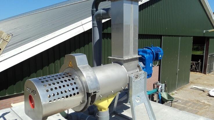 God ko-komfort og mere biogas med gyllefibre fra separator