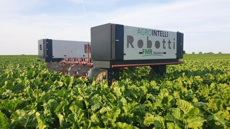 Robot skal afpudse frømarker
