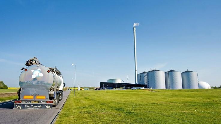 Maabjerg Biogasanlæg er forud for sin tid