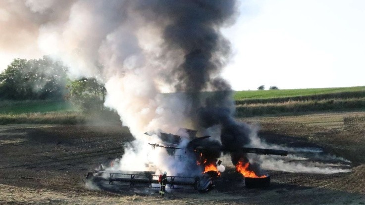 Eksplosionsbrand i ny MF Ideal
