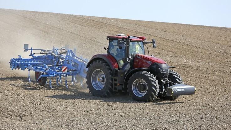 Flere informationer skal høstes med traktoren