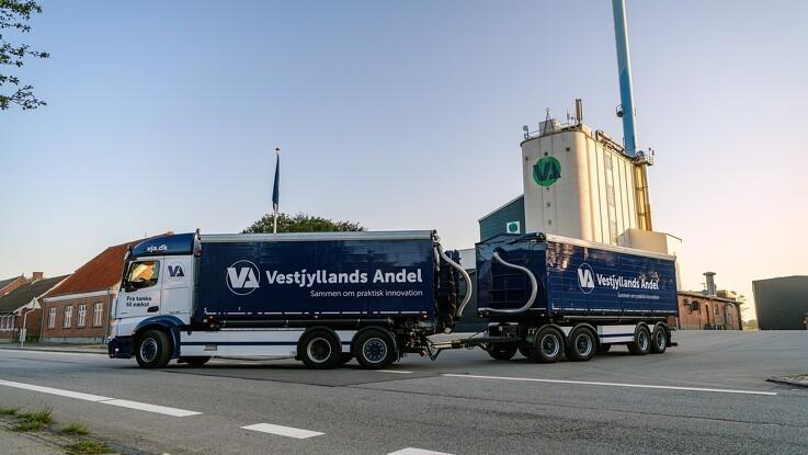 Vestjyllands Andel præsenterer stort overskud