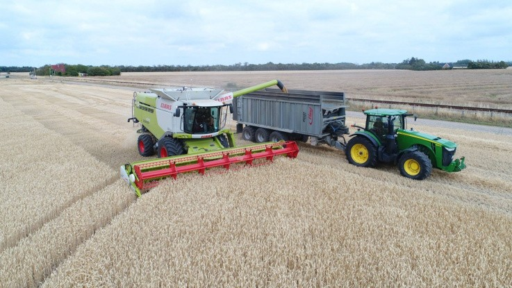 John Deere og Claas deler data