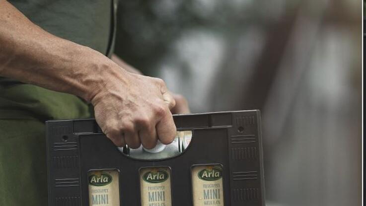 Mælkekasser bliver grønnere