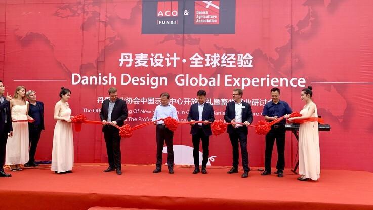 Dansk landbrug åbner showroom i Kina