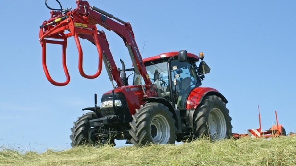 Mellemklassetraktor med maxi komfort