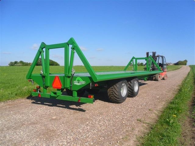 NOC Agro Halmvogn med hydraulisk ballesikring